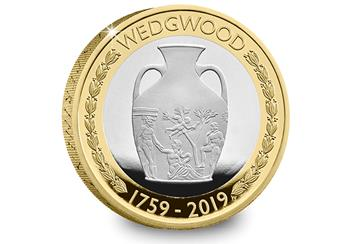 Wedgwood 2 Pound Coin Product Images Silver Proof Reverse 1