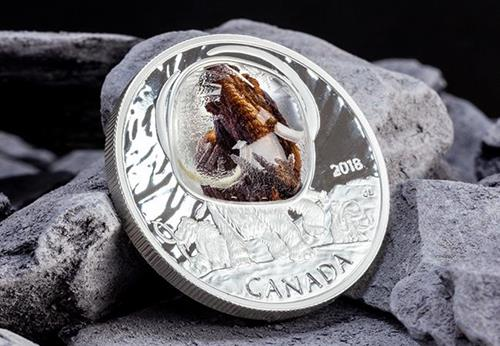 Canada 2018 Woolly Mammoth Silver Proof Coin Lifestyle
