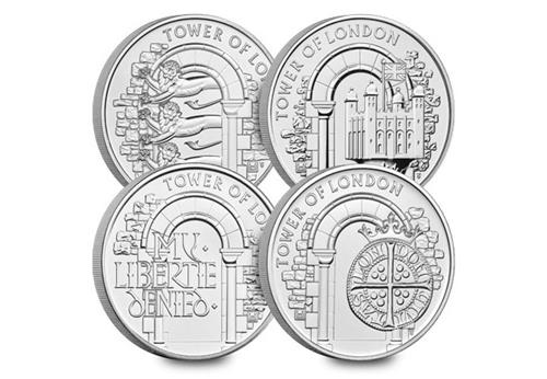 2020 Tower of London Five Pound Collection.jpg