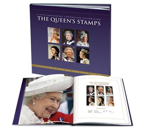 The Queen's Coronation Jubilee Stamp Book