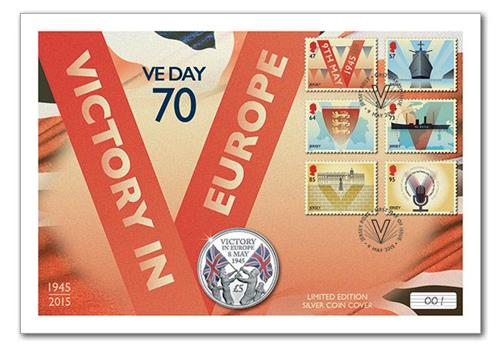 N896 - 70th Anniversary VE Day Cover