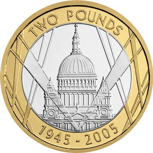 2005 VE Day 60th Anniversary £2