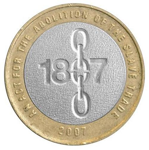 2007 Abolition of Slavery £2