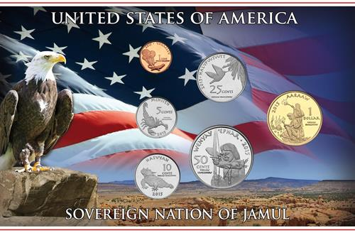 The Native American Coins of the Jamul Tribe Obverse