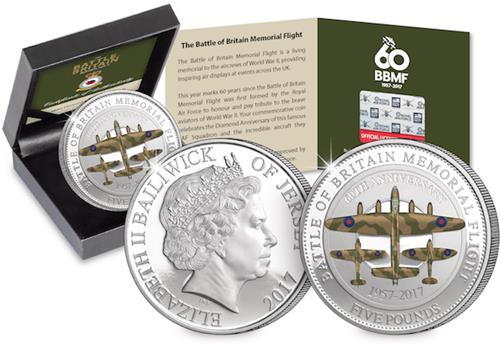 BBMF CuNi Proof 5 Pound Coin Main.png